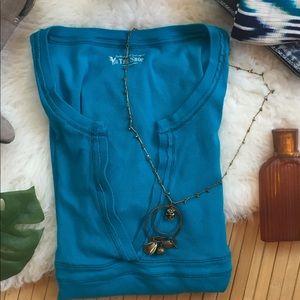 VS Victoria's Best Kept Secret Ribbed Blouse XL